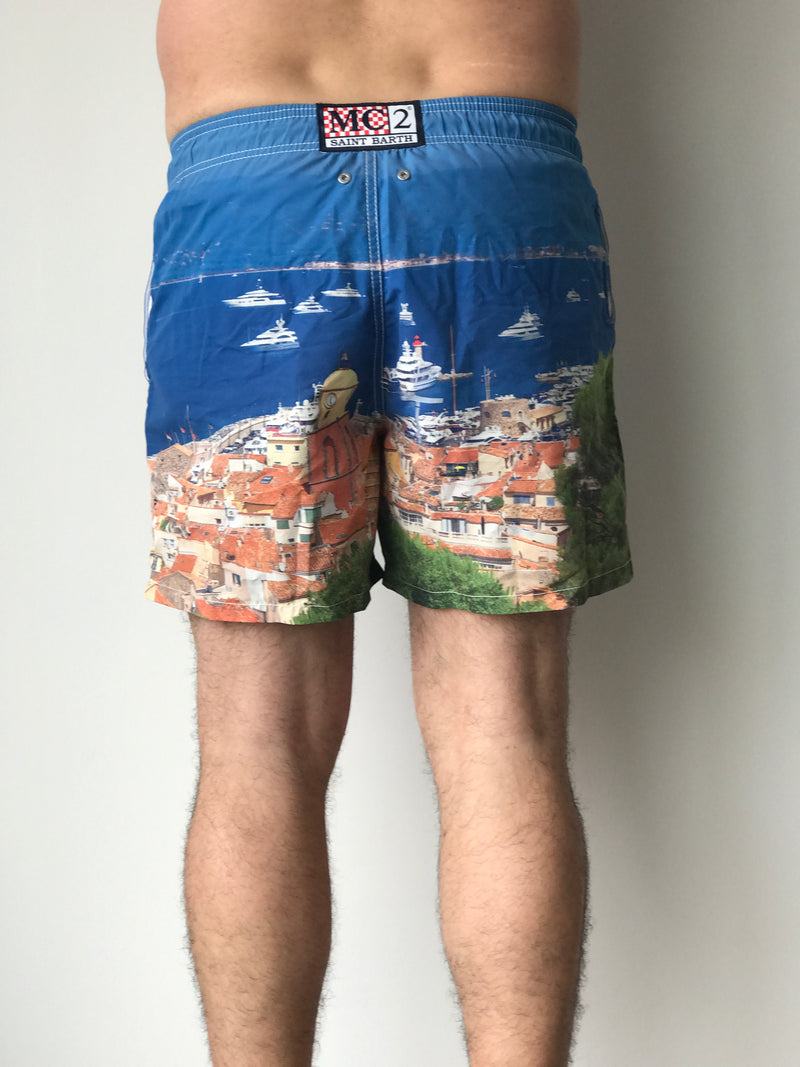 PHOTOGRAPHIC SWIM SHORT BEFFROI