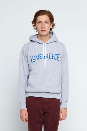 The Lovegreece Hoodie™ – Men / Hoo – Grey