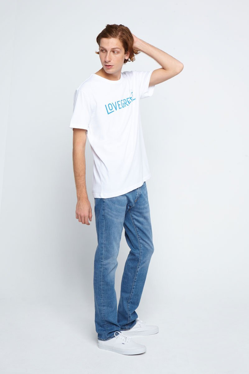 The Lovegreece T-Shirt™ – Men / White