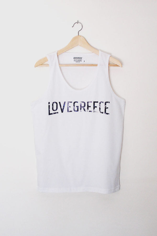 The Lovegreece Vinyl Tank ™- Unisex / Purple