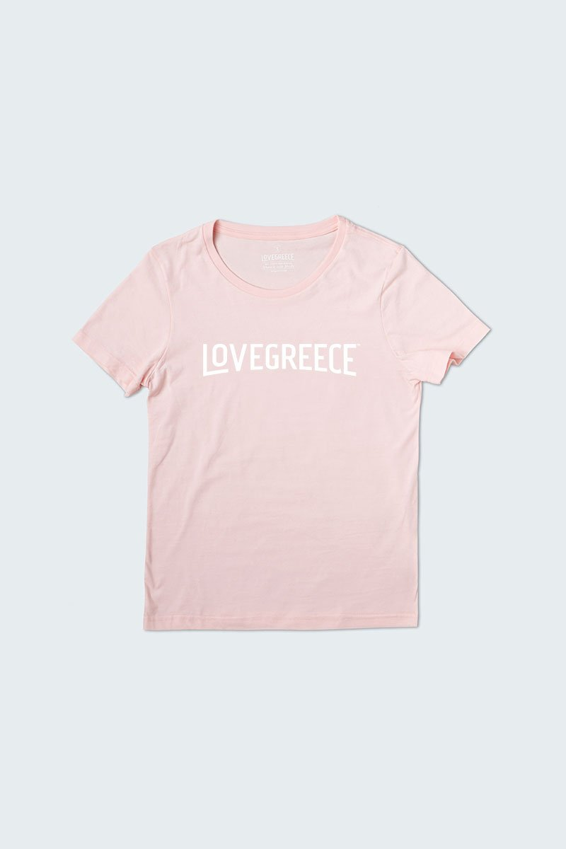 The Lovegreece T-Shirt™ – Women / Pink