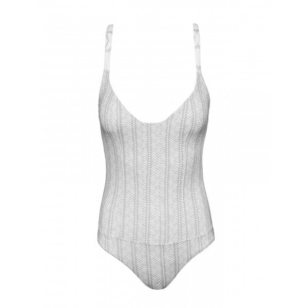 Heringbone One Piece Double-Faced