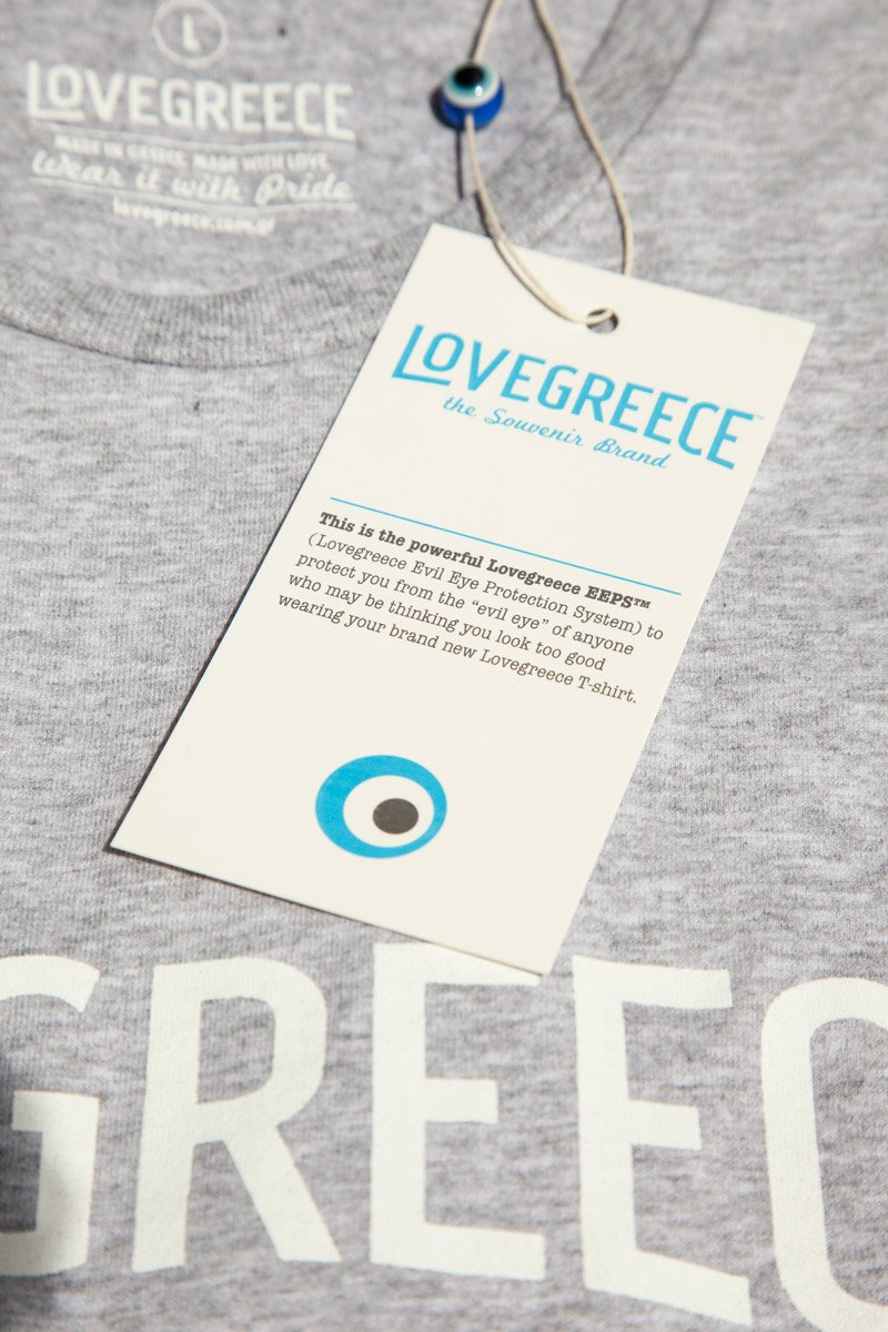 The Lovegreece T-Shirt™ – Men / Grey