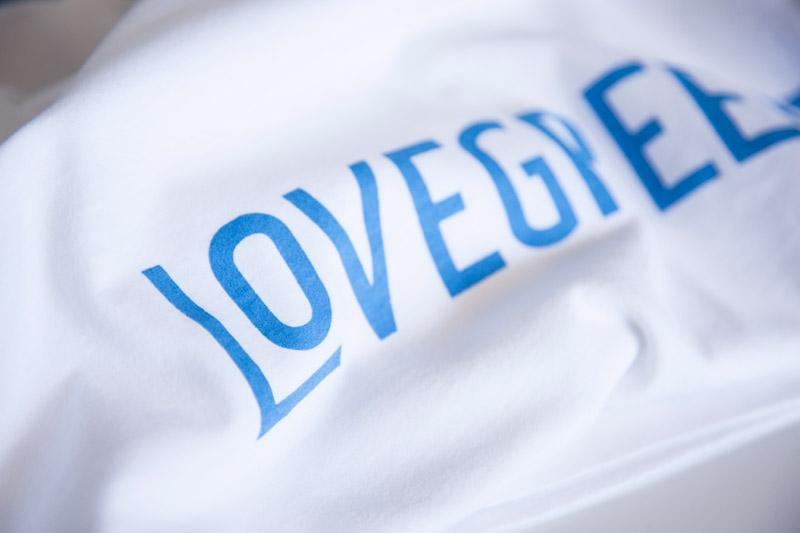 The Lovegreece T-Shirt™ – Women / White