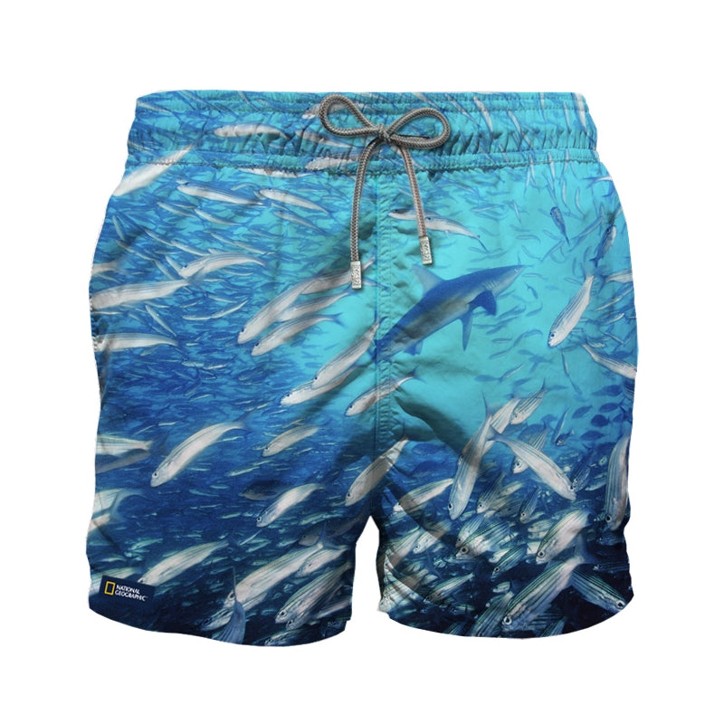 PHOTOGRAPHIC SWIM SHORT SHARK