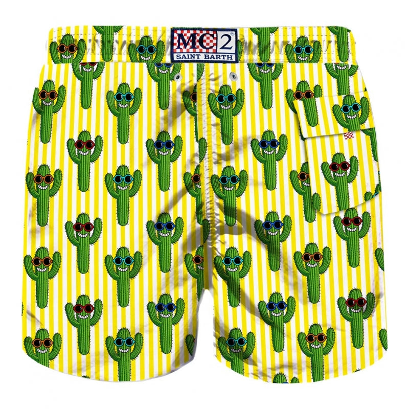 Boys Swim Trunk Cactus