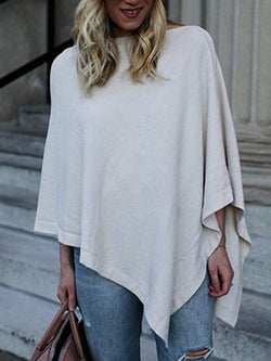 White Vintage Long Sleeve Cotton-Blend Shirts & Tops