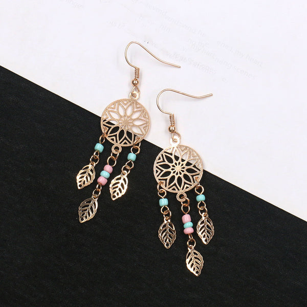 As Picture Casual Alloy Earrings