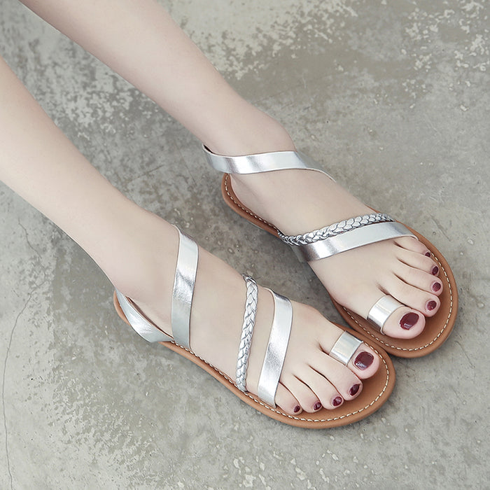 Daily Casual Flat Heel Sandals
