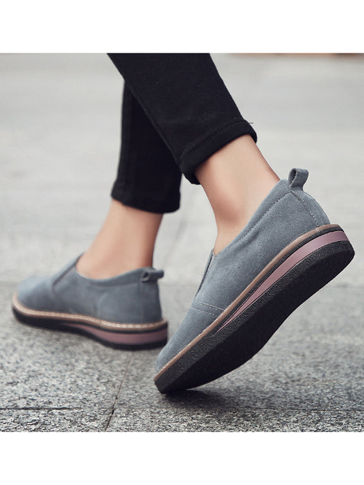 2018 Autumn Women Classic Flat Shoes Comfortable  Round Toe  Leisure Shoes
