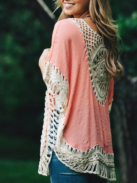 Crocheted Cotton Coverup