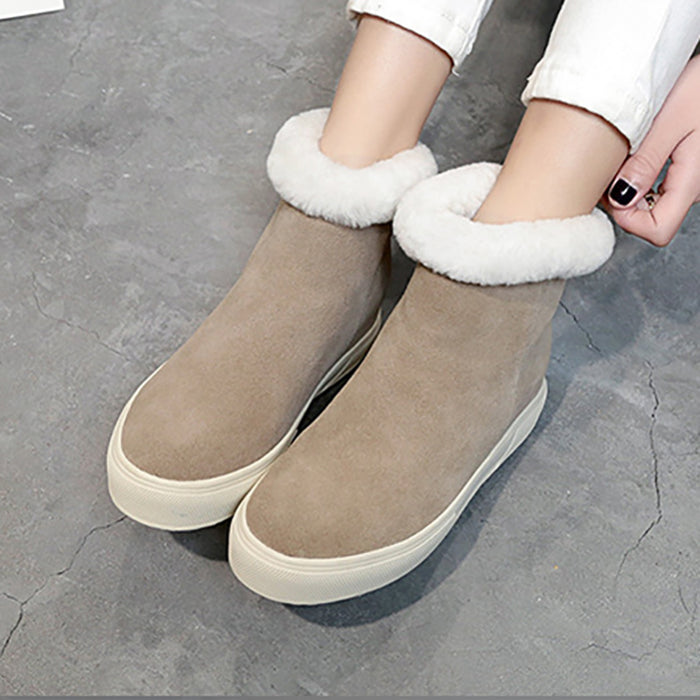 Women Casual PU Spring/Fall Boots