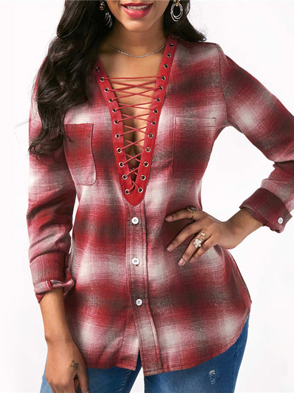 Women Polyester Casual Blouses & Shirt