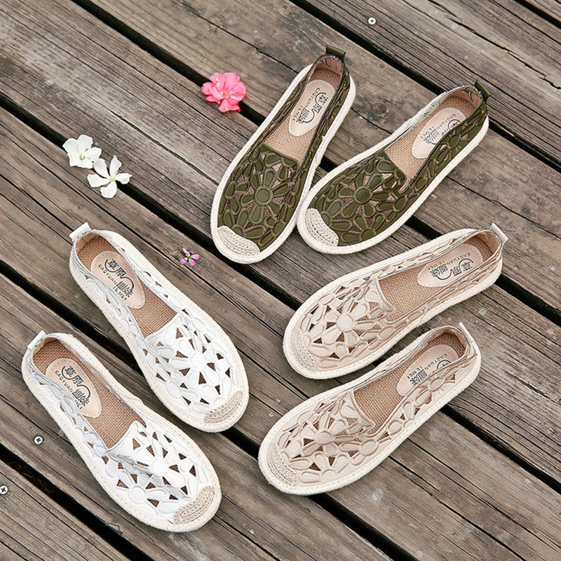 Fall Cloth  Flower Flats