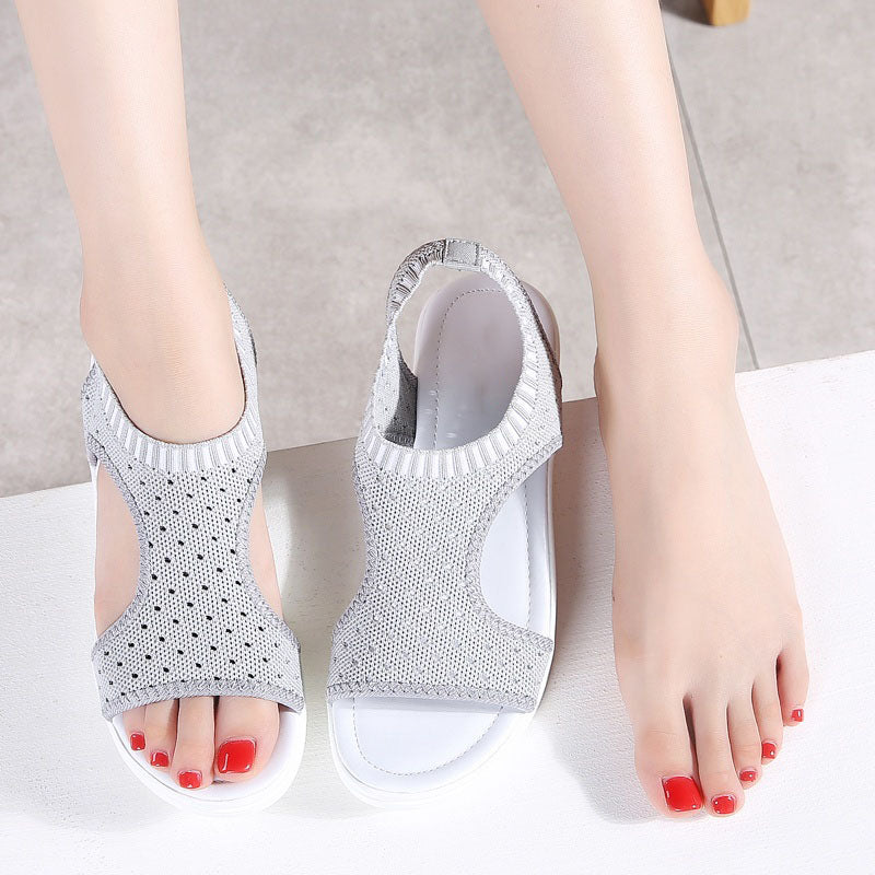 72961344f9a6 Women Fashion Sandals Casual Comfort Peep Toe Shoes – NORACORA