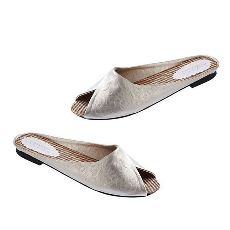 Casual Flat Heel Daily Slippers