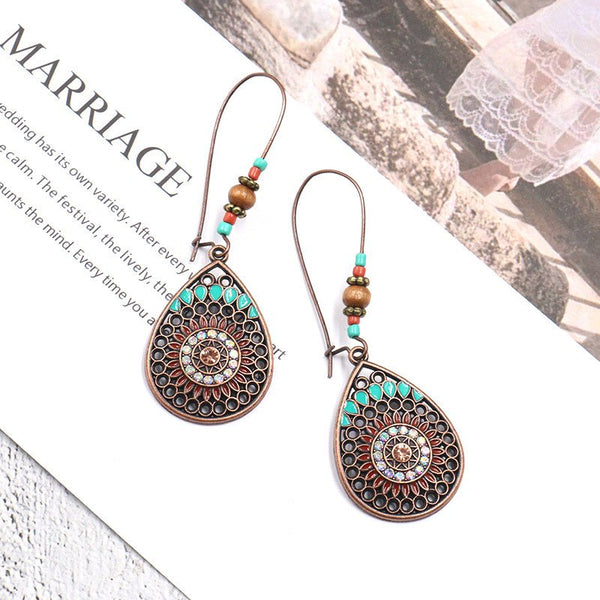 As Picture Alloy Casual Earrings