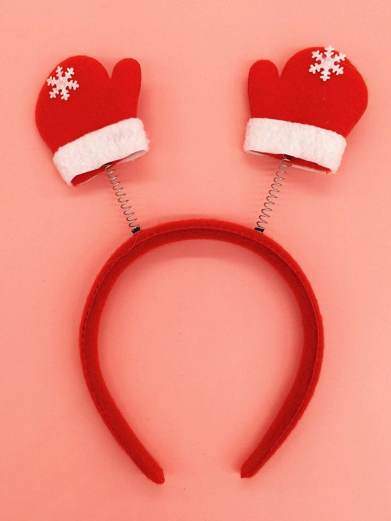 Christmas Headband Xmas Party Snowman Accessories Hairwear