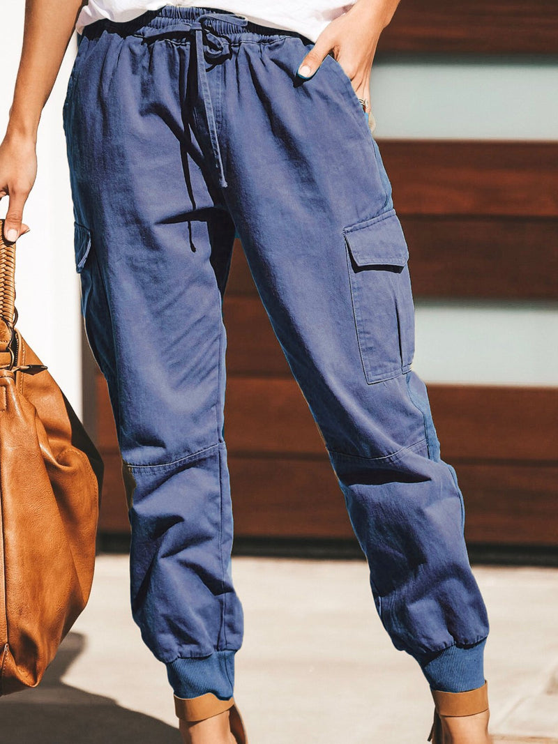 Cotton Casual Pants