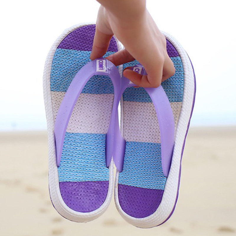 Flip Flops Platform Clip Toe TPU Home Beach Slippers