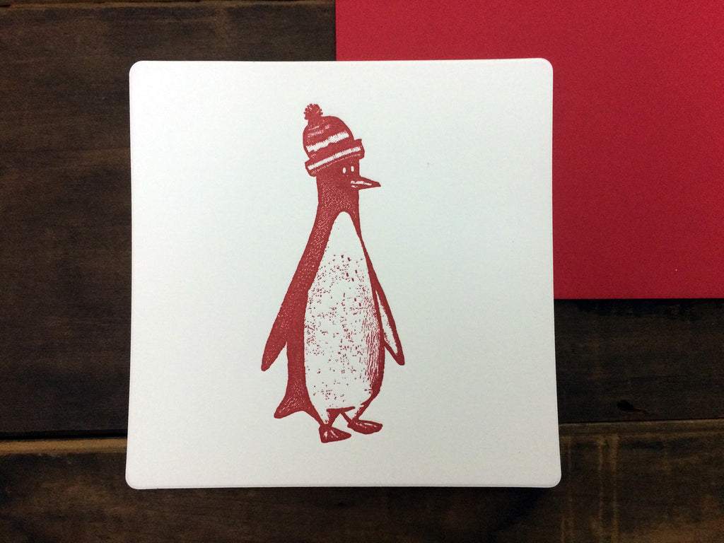 Penguin with Stocking Hat