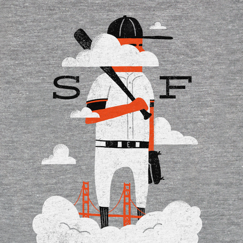 SF Baseball (kids tee)