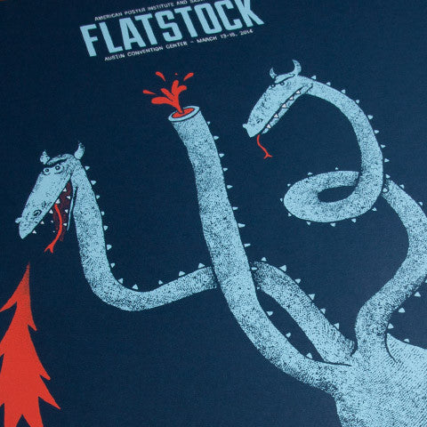 Flatstock at SXSW Poster
