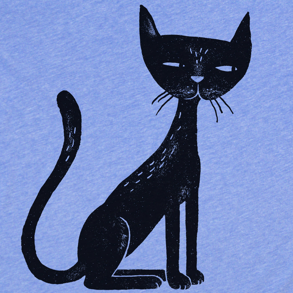 Black Cat women's tee