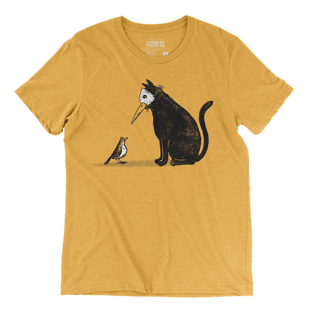 Masked Cat Tee