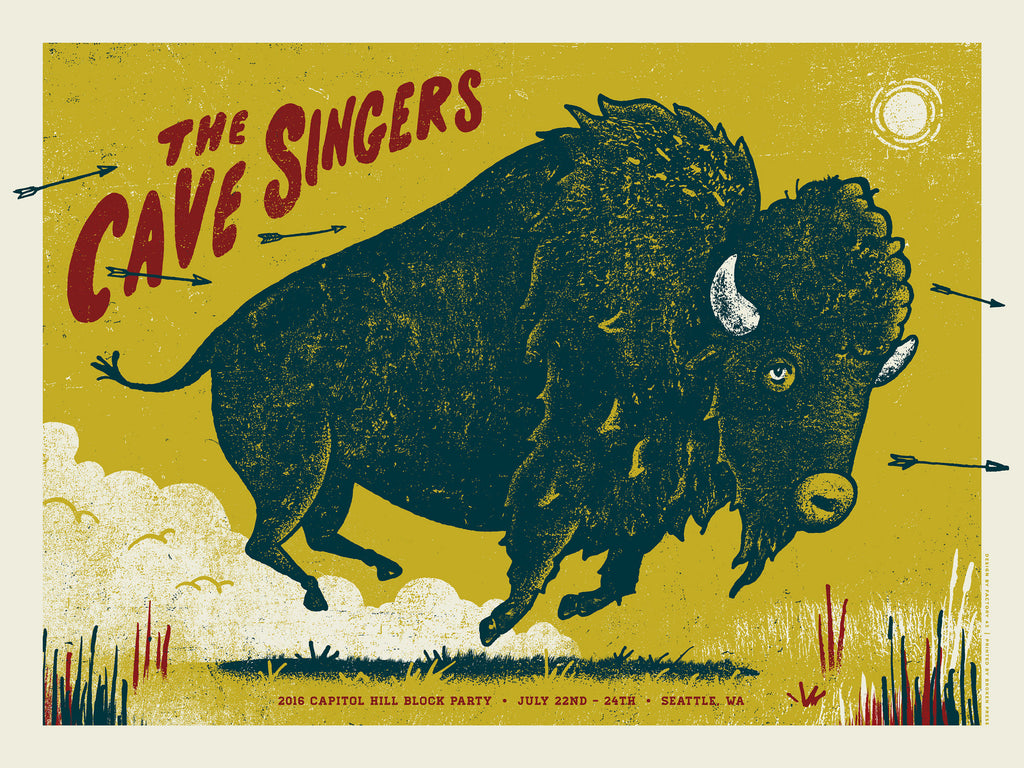The Cave Singers Poster