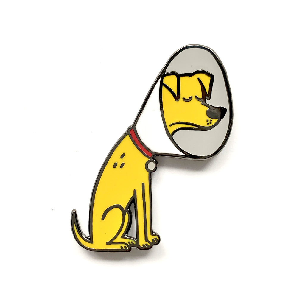 Cone of Shame Pin