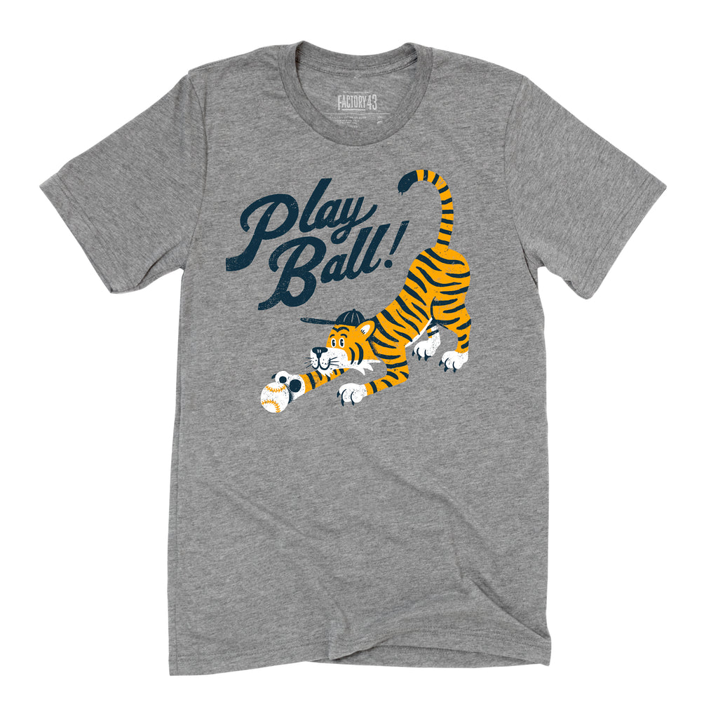 Detroit Play Ball tee