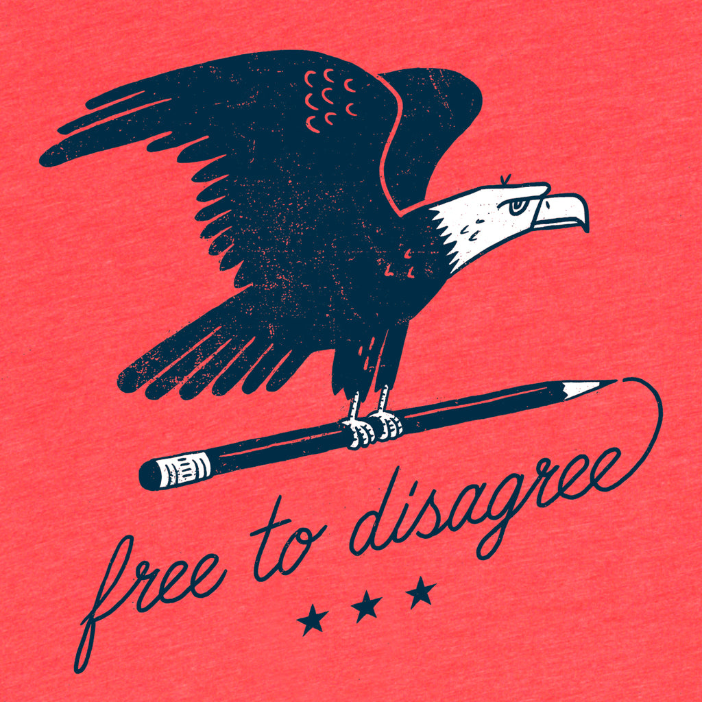 Free to disagree tee