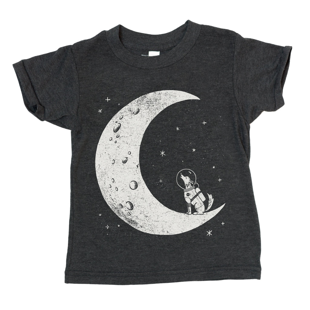 Howl at the moon (kids tee)