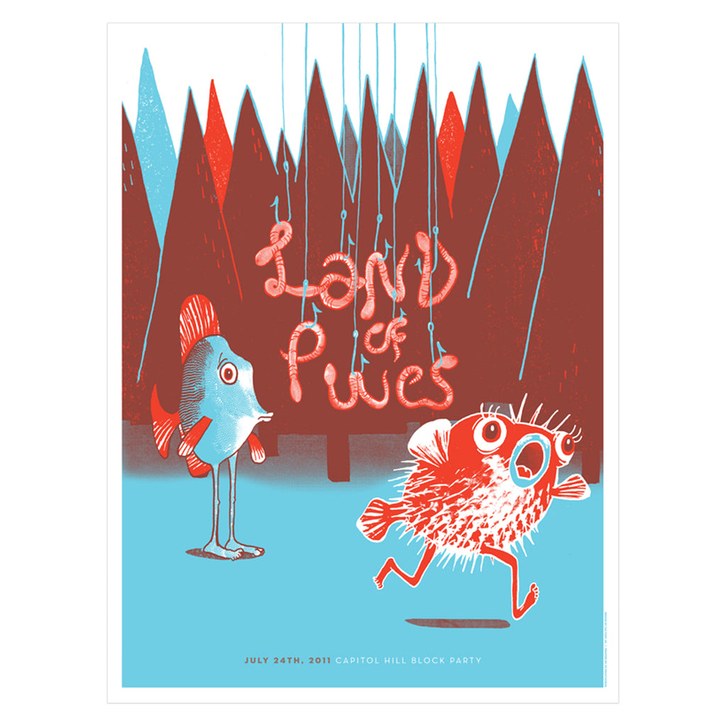 Land of Pines Poster