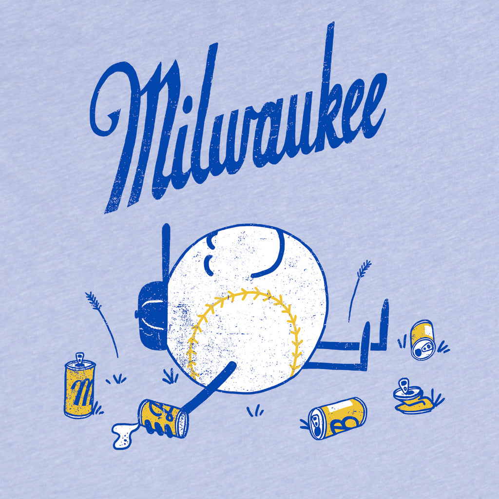 Milwaukee Baseball tee