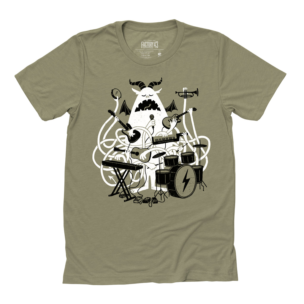 One Monster Band tee