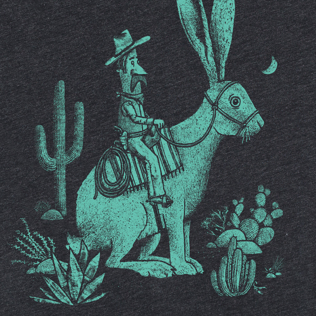 Cowboy Rabbit Women's Tee