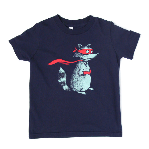 Raccoon (kid's tee)
