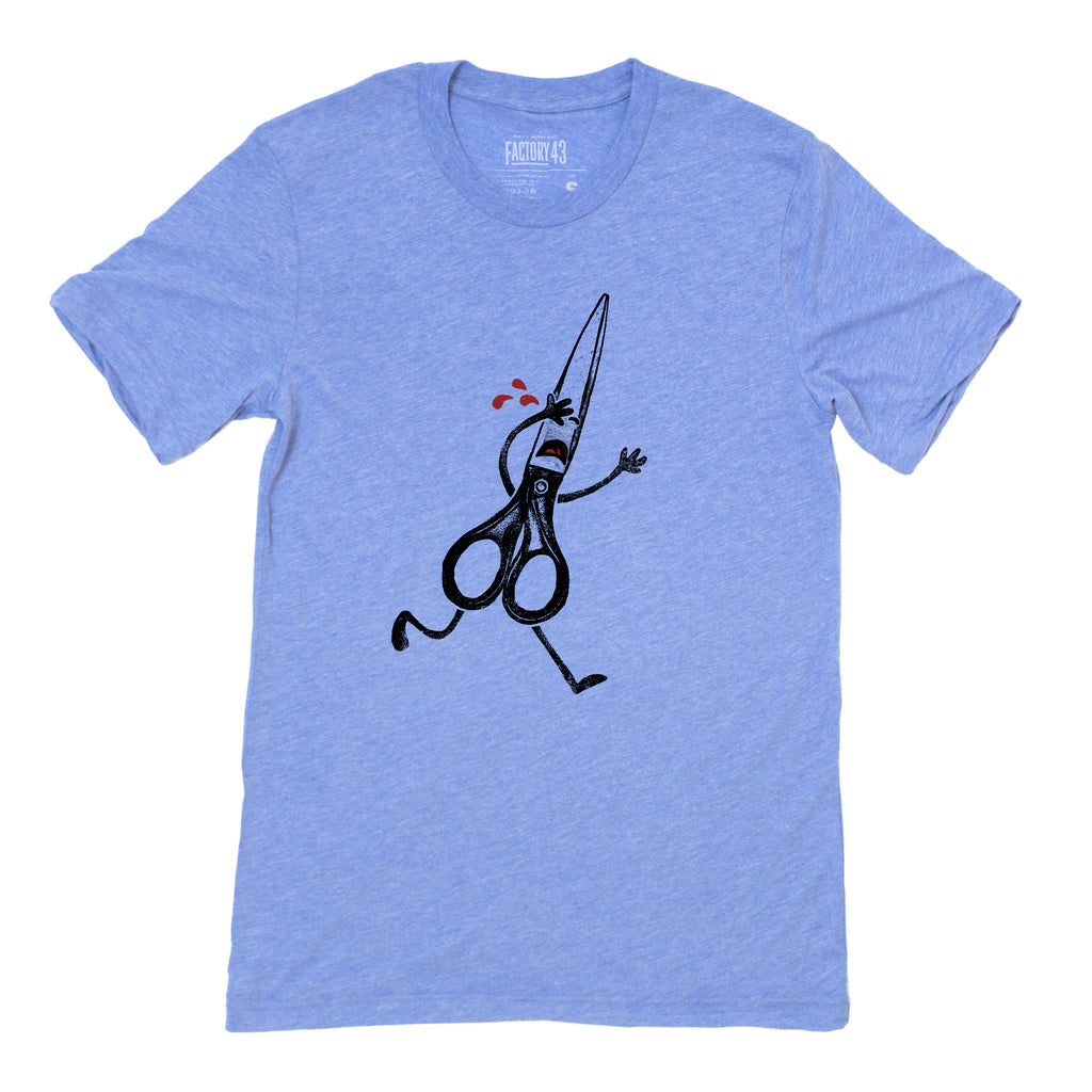 Running with Scissors tee