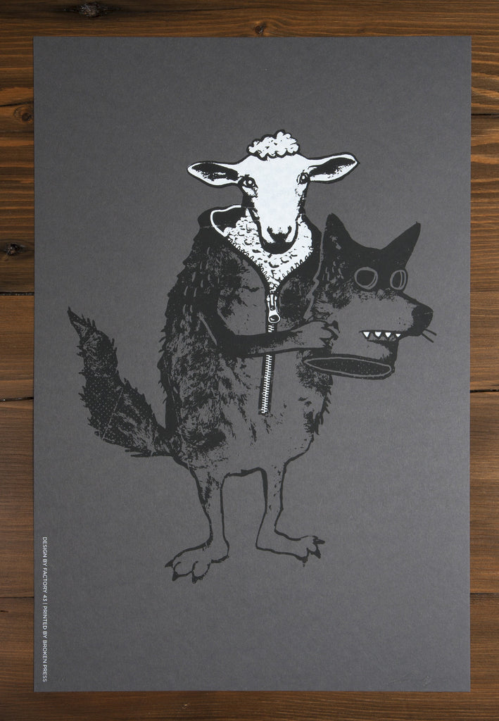 Sheep in Wolf's Clothing Poster