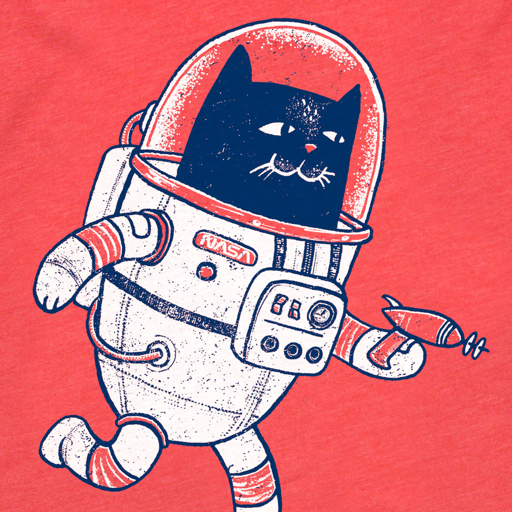 Space Cat (Kids Tee)
