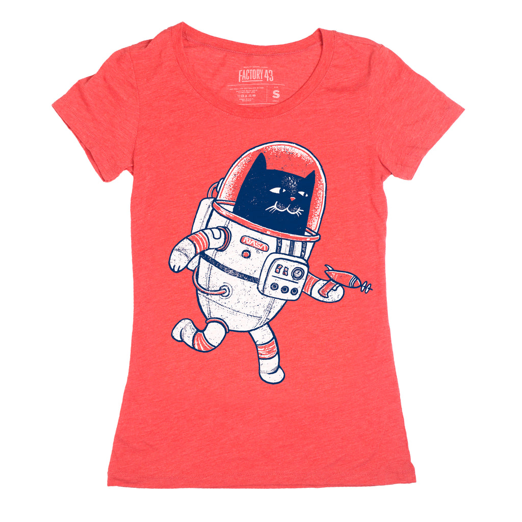 Space Cat Women's tee