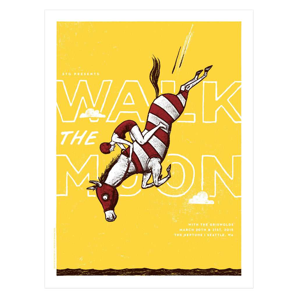 Walk the Moon Poster