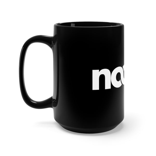 Noobie Mug 15oz - Black