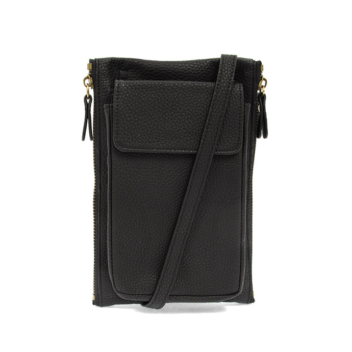 Mary Multi Crossbody (Black)