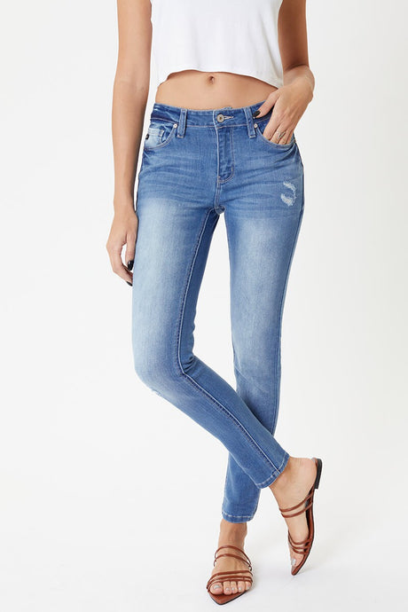 Kancan Light Wash Skinny Jean