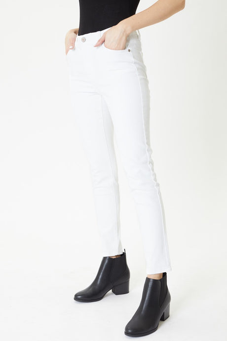Kancan White Stretch Jean