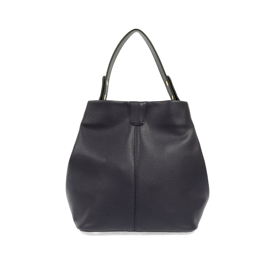 Ava Convertible Bag (Navy)