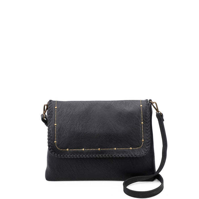 Ampere Black Stud Messenger
